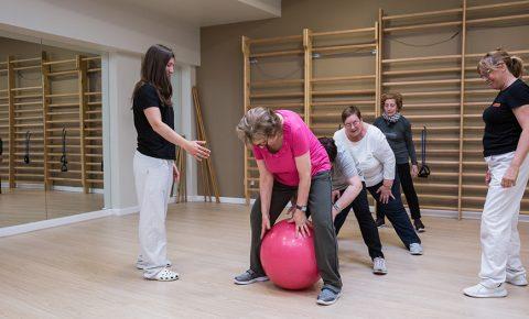 Programa de ejercicio físico en personas con patologías crónicas