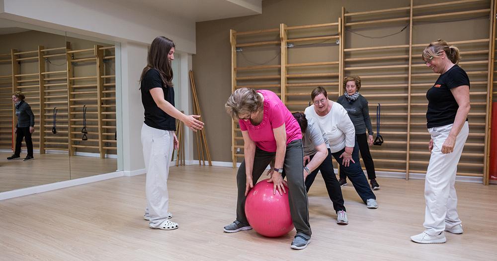 Programa de ejercicio físico para personas con patologías crónicas